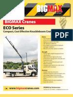 BIGMAX Cranes ECO Series
