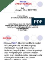 Rehabilitasi Medik Ricky Pebriansyah
