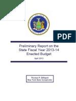 Enacted Budget Report