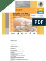 Administracion de recursos humanos (Administración)
