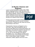 Fibroid Buster Cleanse and Regimen