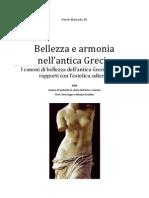 Beleza e Harmonia Na Arte Grega