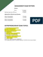 Entrepreneurship & Environment