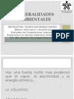 Generalidades ambientales
