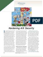 AIX Hardering