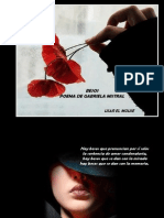 Poesia El Beso de GabrielaMistral