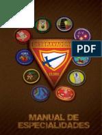 Introdução do Novo Manual de Especialidades