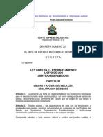 Ley Contra El Enriquecimiento Ilicito de Los Servidores Publicos