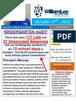 7th Newsletter 10-17-2012