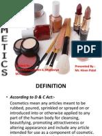 cosmetice genralitati