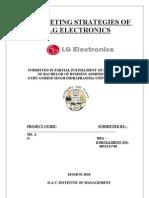 LG Electronics Report