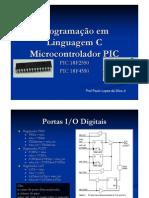 Programação em Linguagem C Microcontrolador PIC aula2