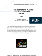 Insider Secrets of Online Poker