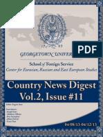 CERES News Digest-Week11, Vol.2