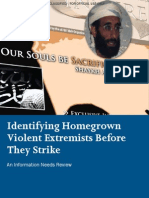 Dhs Homegrown Threats