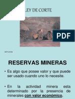 mineria - ley de corte.ppt