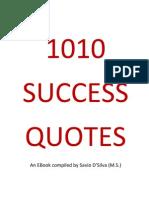 1010 Success Quotes