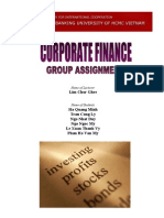 Cooperate Finance Assignment