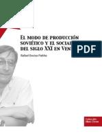Rafael Enciso - El Modo de Produccion Sovietico