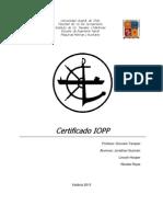 Certificado Iopp l.hooper n.rojas j.guzman