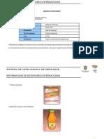 Informe de Monitoreo Internacional Del Nectar
