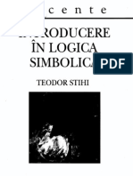Teodor Stihi - Introducere în logica simbolică