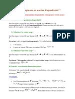 7)Endomorphisme Ou Matrice Diagonalisable