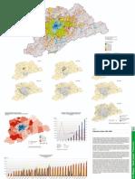 Mapa - Cidade São Paulo - Expansão urbana 1881-2002