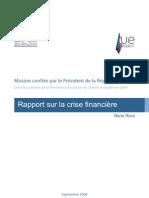 60148855 Rapport Sur La Crise Financiere