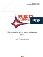 Example Domestic Thermal Imaging Survey Report