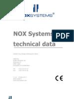 NOX E Technical Data