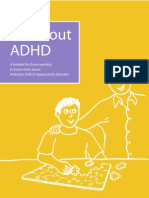 34455234 All About ADHD Attention Deficit Hyperactivity Disorder