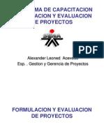 Formulacion de Proyectos - Ultima Version