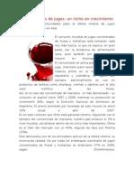 Exportaciones de jugos en Chile