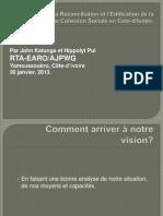 L'Analyse de CONFLICT-Yamoussoukro 2013.