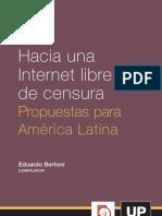Bertone, Eduardo - Internet Libre de Censura