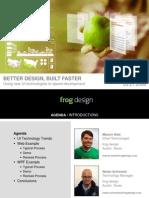Better Design Built Faster