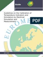 Euromet Calibration of Indicators-Simulators