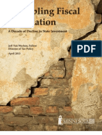 Crumbling Fiscal Foundation