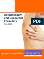 Element is Antiperspirant Deo Formulary