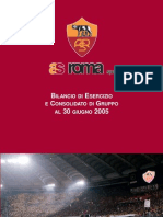 AS Roma SpA bilancio 2005 (Financial Report and Accounts)