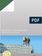 Manual Tejas Hormigon
