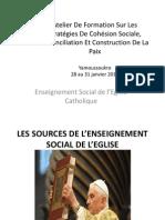 Enseignement Social de l'Eglise Catholique