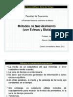 Métodos de Suavizamiento (con Eviews y Stata).pdf