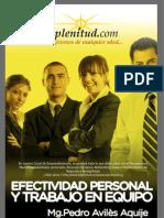 Efectividad Personal y Trabajo en Equipo