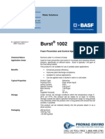 Chemicals Zetag DATA Burst 1002 - 0410