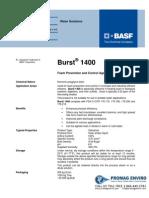 Chemicals Zetag DATA Burst 1400 - 0410