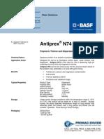 Chemicals Zetag DATA Antiprex N 74 - 0410