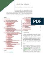 RMP_feedback - A Tutorial Essay on Control