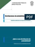 Distribuciones de Probabilidad Discreta